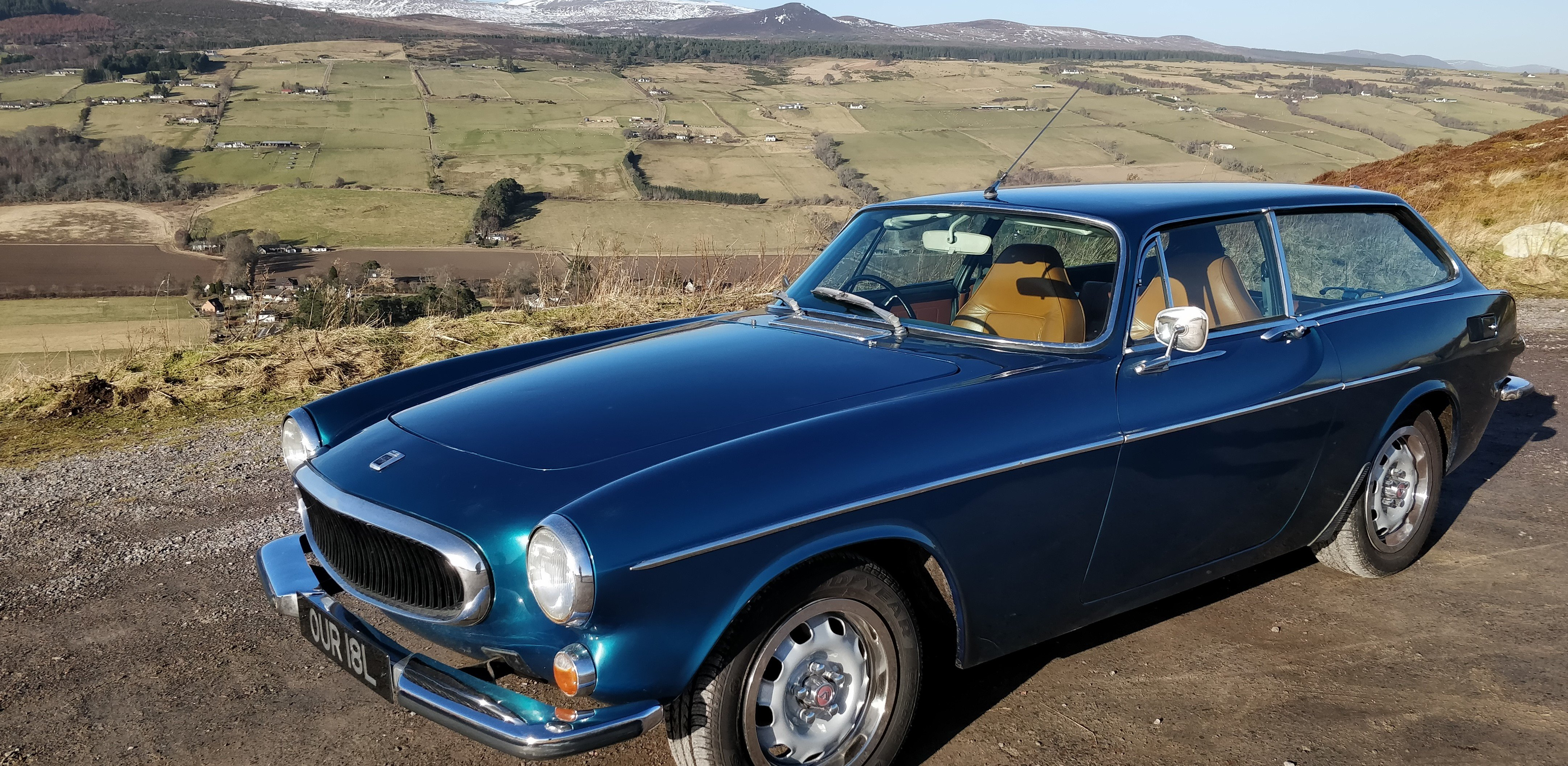 Volvo 1800ES for self drive hire