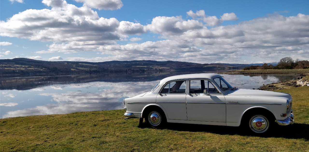 Volvo Amazon 122S for self drive hire